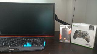 Pc gaming+ teclado+ raton+ mando X one