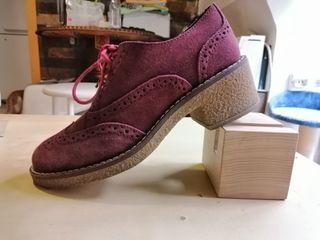 Zapatos de vestir de tacón bajo con memory foam
