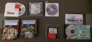 90 cds software microsoft vintage ENCICLOPEDIAS