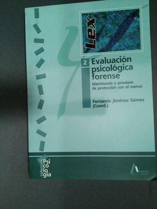 Evaluacion psicologica forense, fernando jimenez