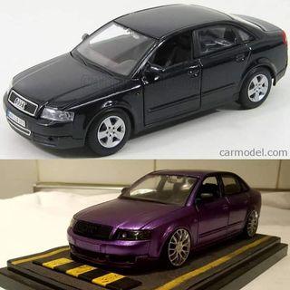 Maqueta Audi A4 b6