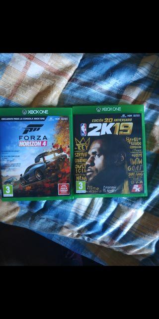 Xbox One con juegos