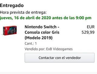 pack nintendo switch version 2019 gris