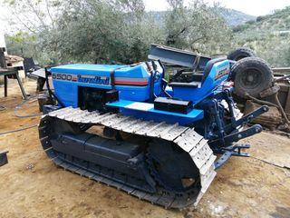 tractor cadenas o orugas