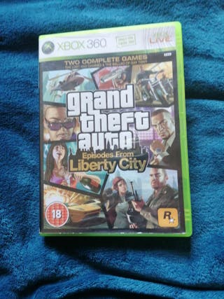xbox 360 GTA episodes from liberty city