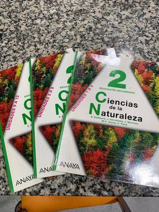 LIBRO CIENCIAS DE LA NATURALEZA 2º