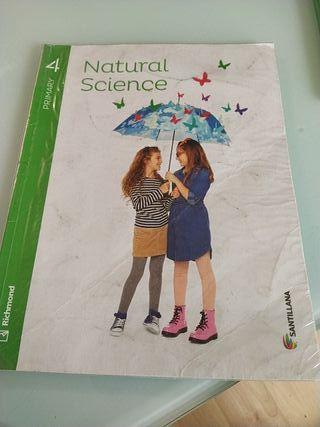 Libro 4 primaria de Natural Science, Santillama
