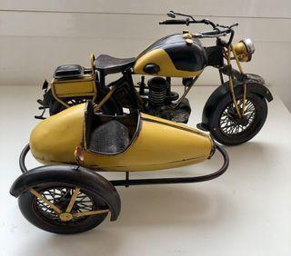 Moto (Sidecar) decoración