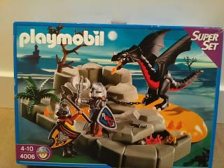 Playmobil 4-10. 4006 superset dragon caballeros
