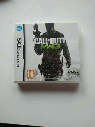 Call of duty MW3 defiance NINTENDO DS