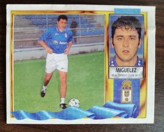 MIGUELEZ cromos este 95-96