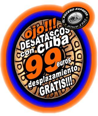 DESATASCOS CUBA 99€ / DESPLAZAMIENTO GRATIS