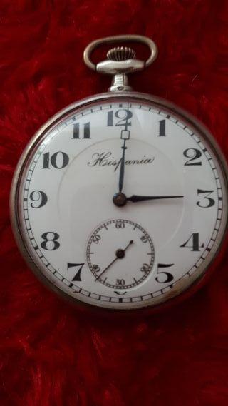 Reloj bolsillo plata
