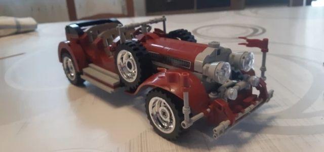 Lego MOC Roadster, coche clásico