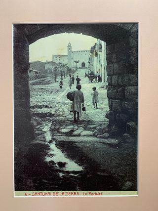 Foto antigua de Montblanc