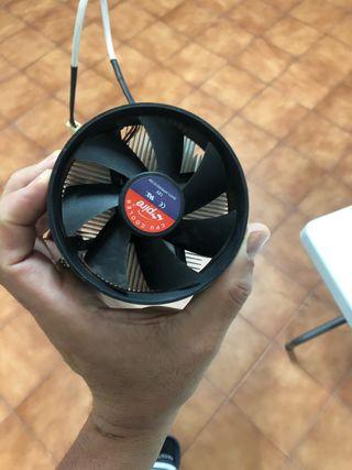 Ventilador refrigerado de pc