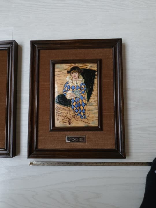 Colección de dos réplicas de Picasso