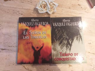 lote libros Alberto Vazquez- Figueroa