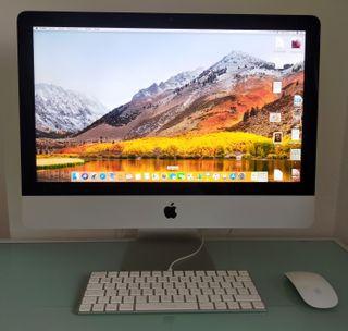 Ordenador Apple iMAC 21.5 con pantalla retina 4K.