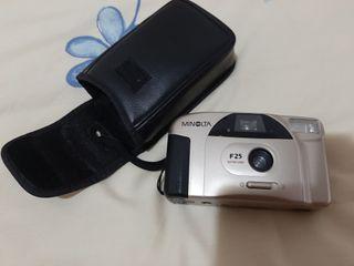 cámara de fotos minolta