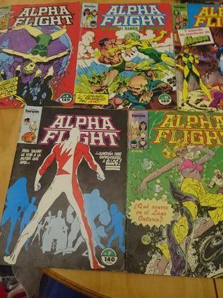Cómics Alpha Flight Forum