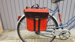 Alforjas para bicicleta o ciclomotor