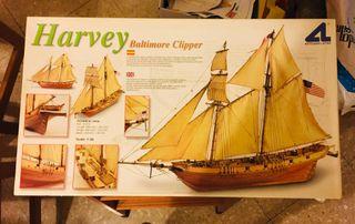 Kit Velero (maqueta) Harvey Baltimore Clipper