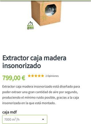 extractor insonorizado
