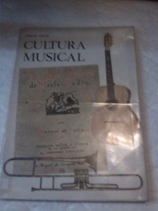 Cultura musical. Cuarto curso. Primaria