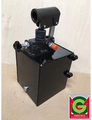 Bomba hidraulica manual con palanca
