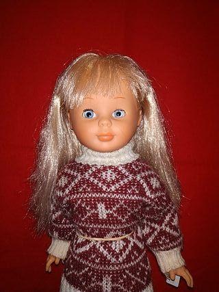 Nancy de famosa finales años 70 flequillo