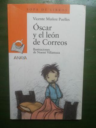 Libro - Oscar y el León de Correos (Vicente Muñoz)