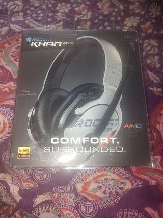 ROCCAT Khan AIMO Auriculares ¡¡NUEVOS!! Gaming 7.1