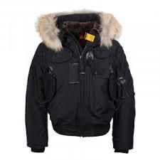 Black para jumper gobi bomber coat jacket