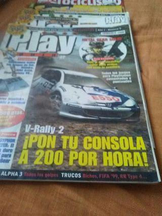 revistas de videojuegos y motos
