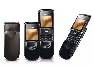 Nokia 8800 Sirocco - Black