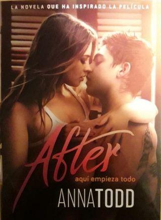 """Libro """"After"""" Aquí empieza todo"""