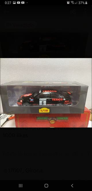 1/18 maqueta ford sierra Texaco RS