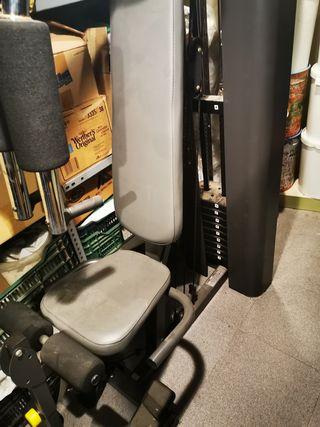 Máquina fitnes musculacion