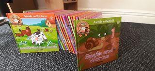 """My Animal Farm"" books and figures"