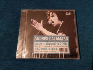 ANDRÉS CALAMARO MADE IN ARGENTINA 2005 DVD+CD