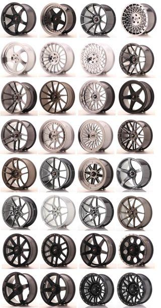 Llantas Japan Racing Jr-wheels