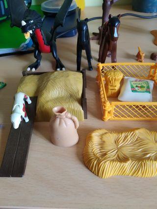 pack de animales y accesorios de granja playmobil