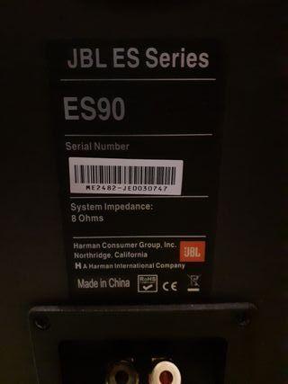 JBL ES90 ALTAVOCES DE SUELO