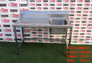 REF:FG00010 Fregadero con bastidor
