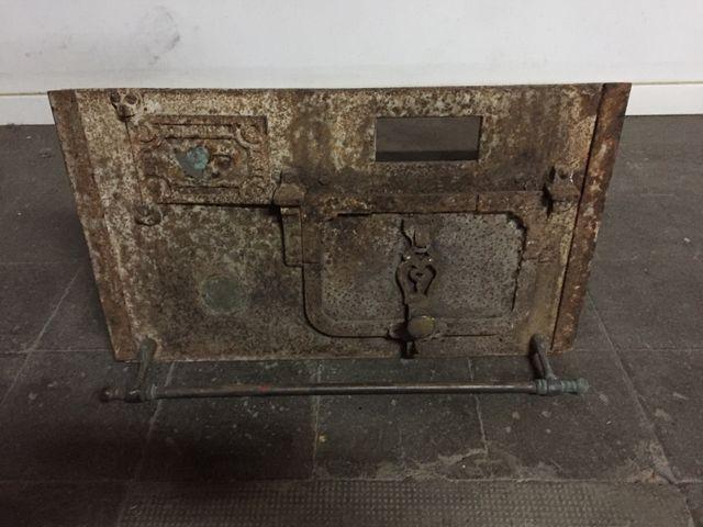 Cocina-horno antigua