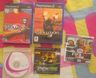 Juegos Fútbol PS2
