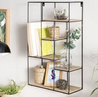 dise/ño decorativo Estanter/ía para libros o CD sal/ón o despacho original y art/ístico en forma de /árbol para dormitorio