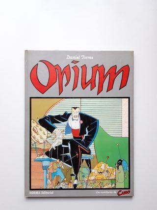 OPIUM de DANIEL TORRES cómics historietas