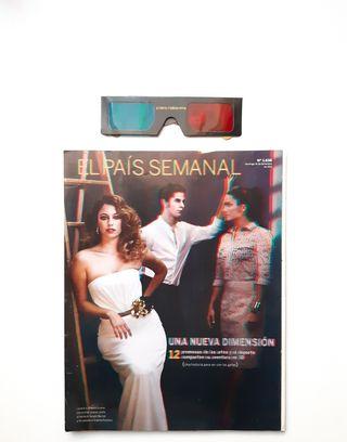 EL PAÍS SEMANAL con gafas 3D, del 2011